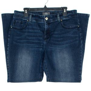 Chicos Jeans So Slimming Bootcut Blue 2 Short HC